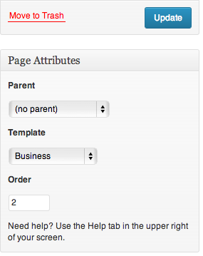 Canvas-Business-Page-Attributes