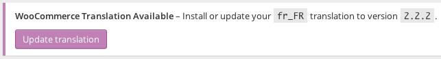 Update WooCommerce 2.2+ Translation Packs