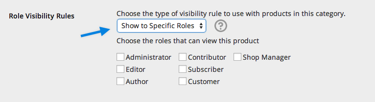 Catalog Visibility Product Category Settings