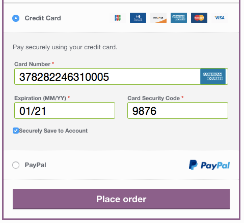 WooCommerce Braintree checkout experience