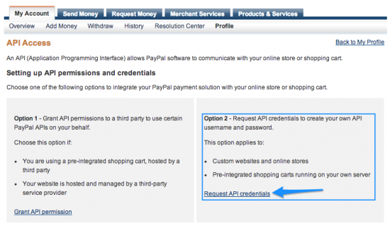 WooCommerce PayPal Express Payment Gateway Get API Signature