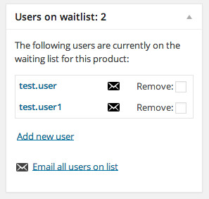 Waitlist-Metabox