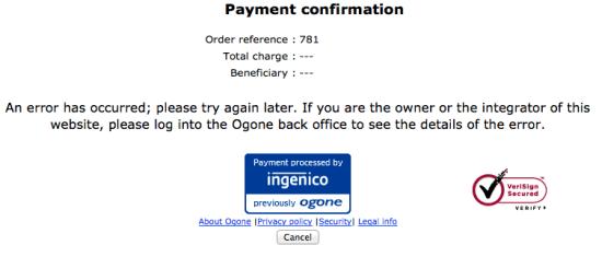 WooCommerce Ogone Error 2