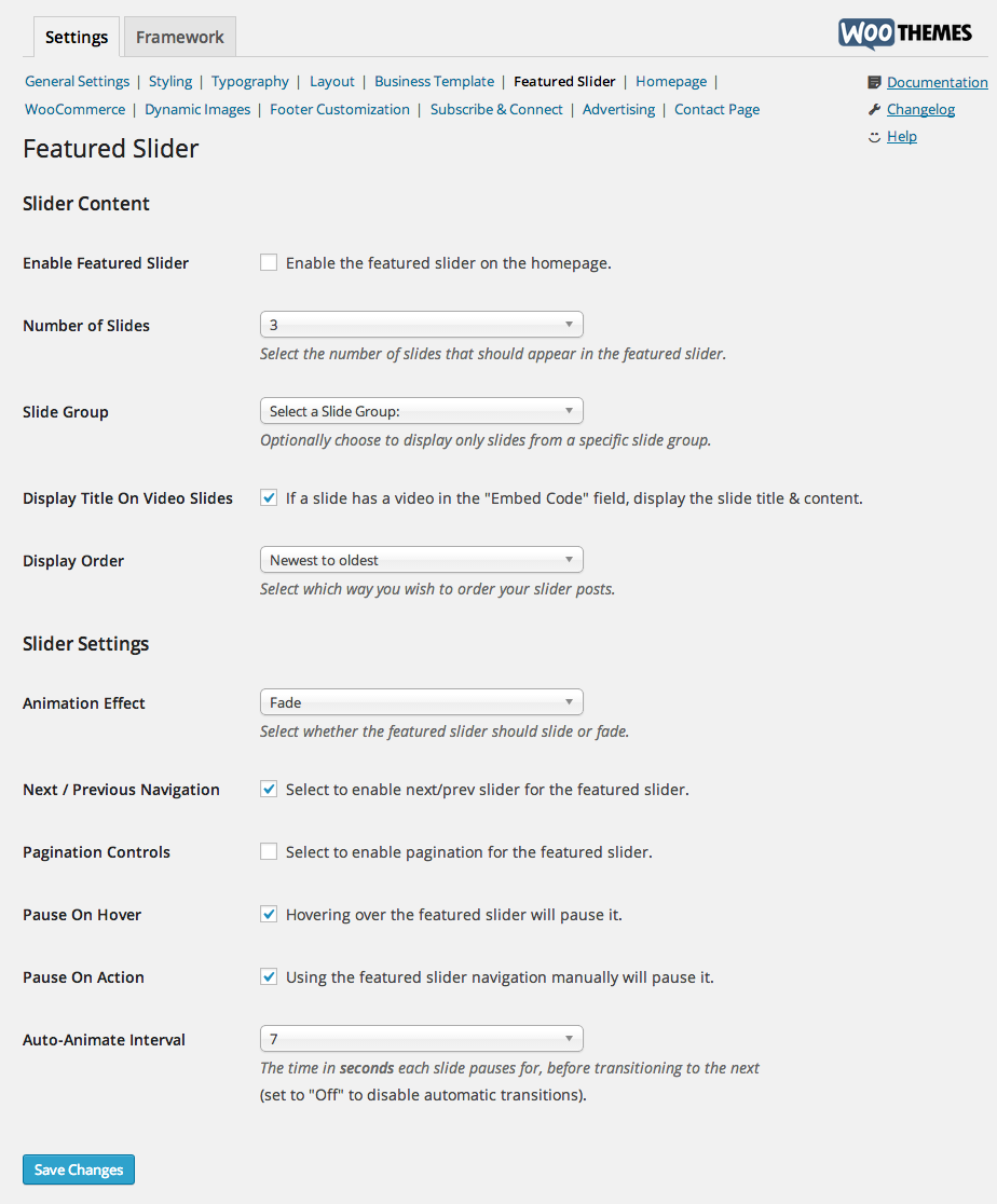Superstore-Featured-Slider-Settings