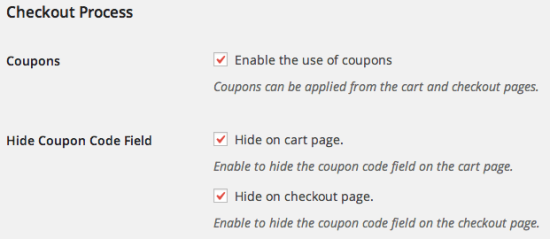 WooCommerce URL Coupons Hide Coupon Fields