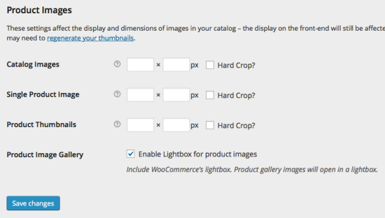 WooCommerce Products > Product Images