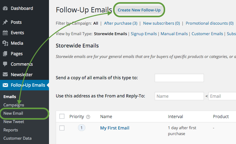 How To Create A Follow Up Email For Pending Orders